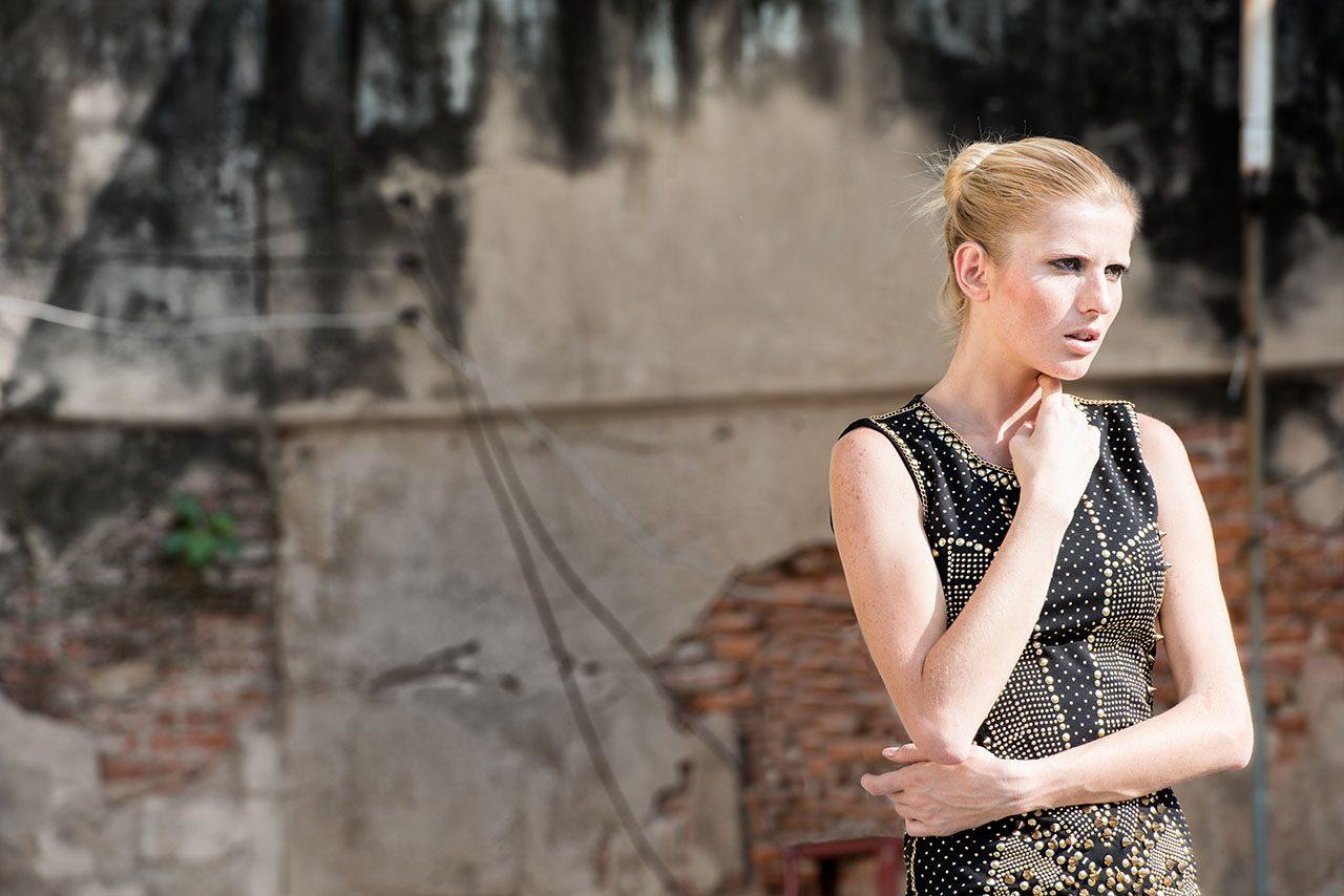 Bangkok fashion model portfolio photography
