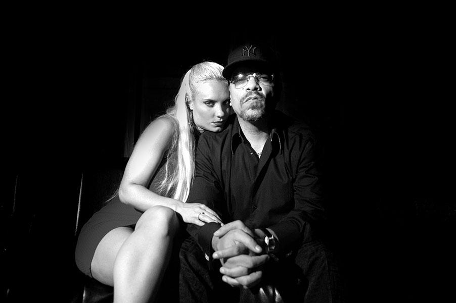 Ice T. And Coca Publicity Portrait