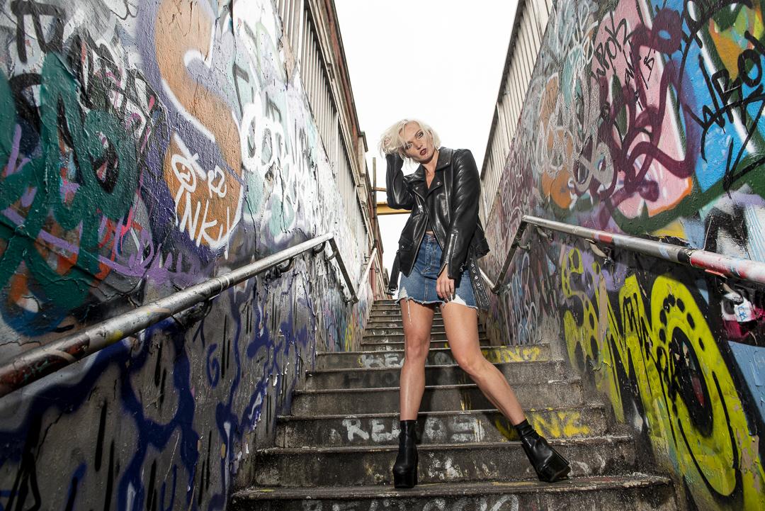 Edgy Street Photography fashion London